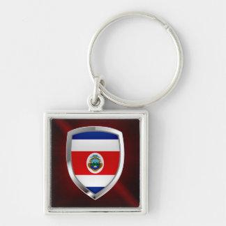 Chaveiro Emblema de Costa Rica Mettalic