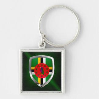 Chaveiro Emblema de Dominica Mettalic