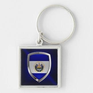 Chaveiro Emblema de El Salvador Mettalic