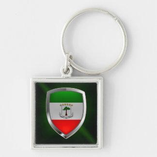 Chaveiro Emblema de Mettalic da Guiné Equatorial