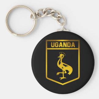 Chaveiro Emblema de Uganda