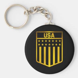 Chaveiro Emblema dos Estados Unidos