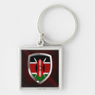 Chaveiro Emblema metálico de Kenya
