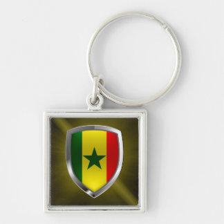 Chaveiro Emblema metálico de Senegal
