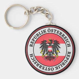 Chaveiro Emblema redondo de Áustria