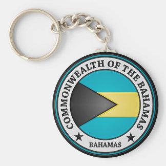 Chaveiro Emblema redondo de Bahamas