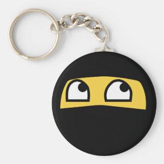 Chaveiro Emoji bonito do ninja do lil