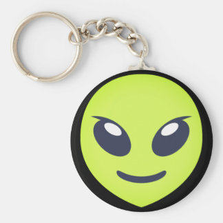 Chaveiro Emoji estrangeiro verde