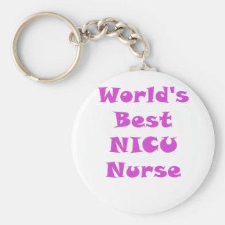 Chaveiro Enfermeira de Nicu dos mundos a melhor