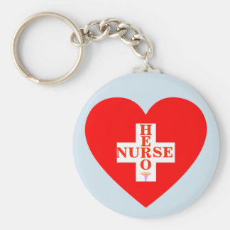 Chaveiro Enfermeira do herói