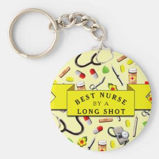 Chaveiro Enfermeira engraçada