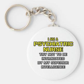 Chaveiro Enfermeira psiquiátrica. Inteligência superior