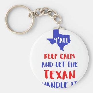 Chaveiro Engraçado você camisetas da menina de Texas