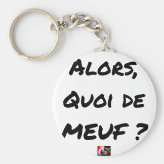 Chaveiro ENTÃO, QUAL DE MEUF? - Jogos de palavras