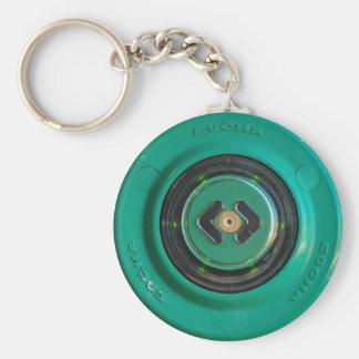 Chaveiro entrada dos acces do sensor do botão do verde do