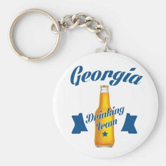 Chaveiro Equipe do bebendo de Geórgia