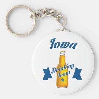 Chaveiro Equipe do bebendo de Iowa
