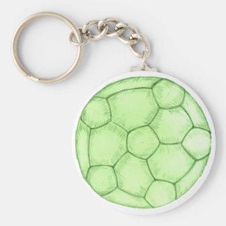 Chaveiro Esboço 2 da bola de futebol