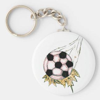 Chaveiro Esboço da bola de futebol