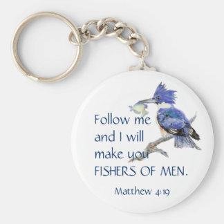 Chaveiro Escritura, Fishers dos homens, citações inspiradas
