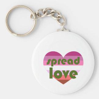 Chaveiro Espalhe o amor lésbica