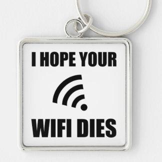 Chaveiro Espere seus dados de Wifi