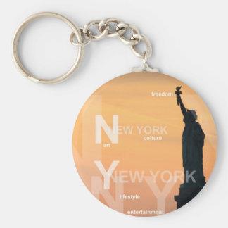 Chaveiro estátua da liberdade ny EUA da Nova Iorque