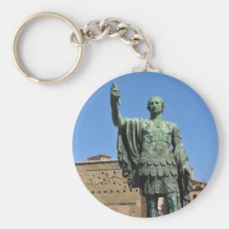 Chaveiro Estátua de Trajan em Roma, Italia