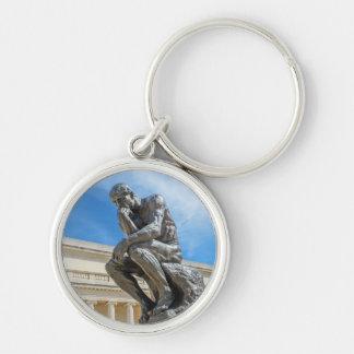Chaveiro Estátua do pensador de Rodin