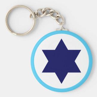 Chaveiro Estrela azul Roundel do israelita IAF