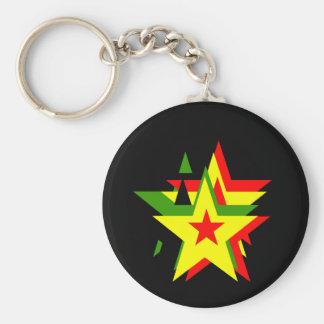 Chaveiro Estrela da reggae