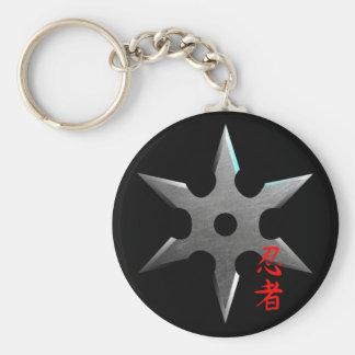 Chaveiro Estrela de jogo de Ninja