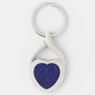Chaveiro Estrelas azuis 2