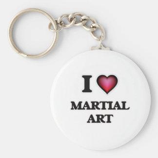 Chaveiro Eu amo a arte marcial