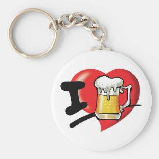 Chaveiro Eu amo a cerveja