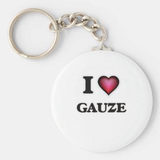 Chaveiro Eu amo a gaze