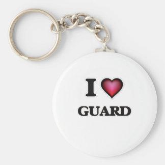 Chaveiro Eu amo a guarda