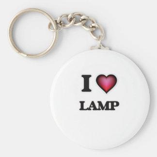 Chaveiro Eu amo a lâmpada