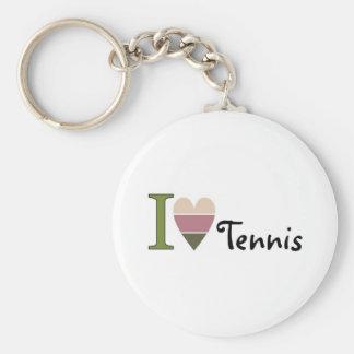 Chaveiro Eu amo a mercadoria do tênis