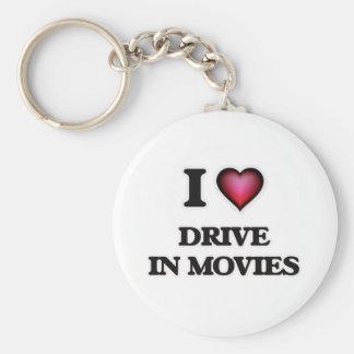 Chaveiro Eu amo a movimentação nos filmes