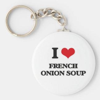 Chaveiro Eu amo a sopa francesa da cebola