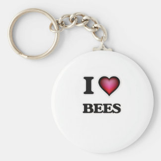 Chaveiro Eu amo abelhas
