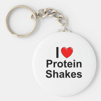 Chaveiro Eu amo agitações da proteína do coração