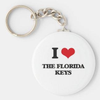 Chaveiro Eu amo as chaves de Florida