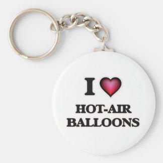 Chaveiro Eu amo balões de ar quentes