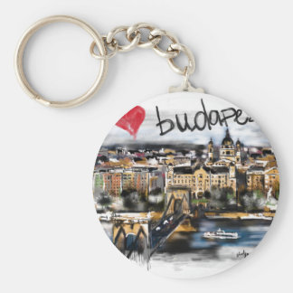 Chaveiro Eu amo Budapest