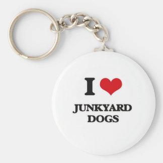 Chaveiro Eu amo cães do cemitério de automóveis