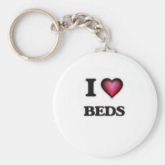Chaveiro Eu amo camas