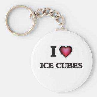 Chaveiro Eu amo cubos de gelo