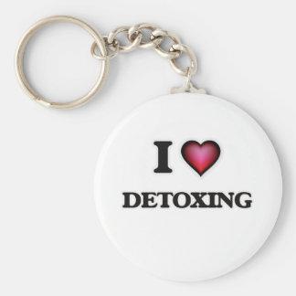 Chaveiro Eu amo Detoxing
